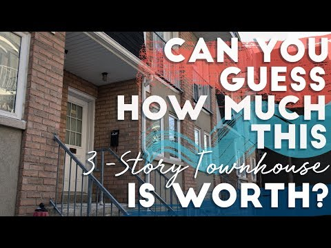 Can you guess the worth of this 3-Story Townhouse?