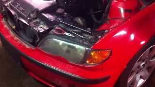 bmw e46 how to replace turn signal light bulb side marker in 30 seconds bmw 318 320 323 325 330