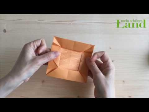 Haus Aus Papier Falten Origami Haus Youtube