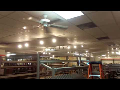 Ceiling Fans Installed at Habitat Restore Glenwood Ave Raleigh NC