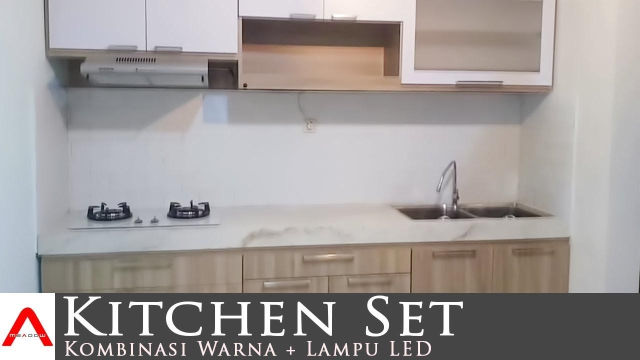 Cara Memasang Kitchen Set Sendiri Full Plafon Youtube