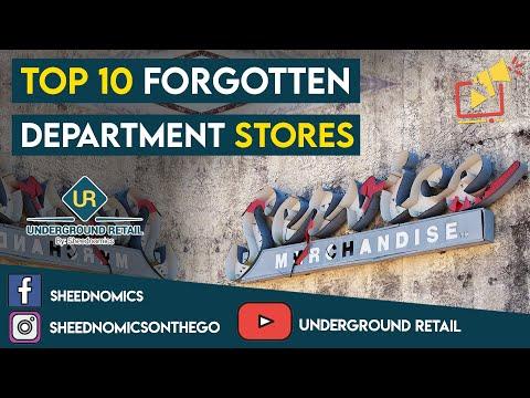 Top 10 Forgotten Department Stores
