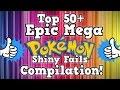 Top 50+ EPIC MEGA Shiny Pokémon Fails Compilation!