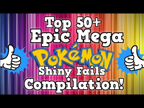 Top 50+ EPIC MEGA Shiny Pokémon Fails Compilation!