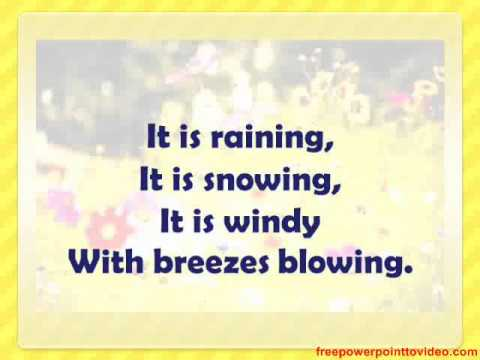 weather poem 2 1 - YouTube