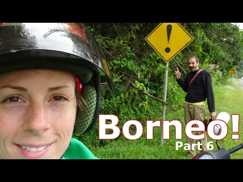 Borneo! | Part 6: A Christmas Motorbike Ride into Remote Sabah! (Winter of 2016 &