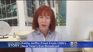 CNN Fires Kathy Griffin From New Year's Eve Show For Trump Stunt