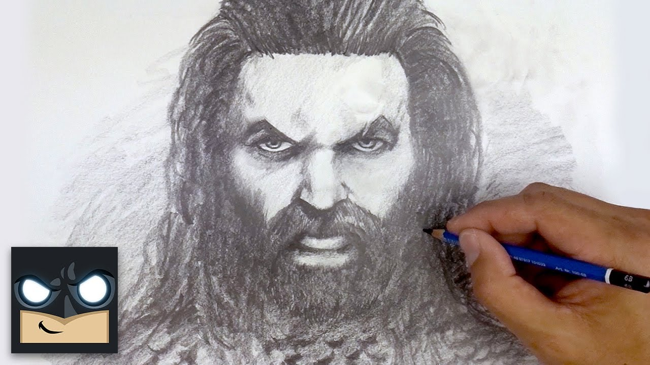 How To Draw Aquaman | Sketch Saturday