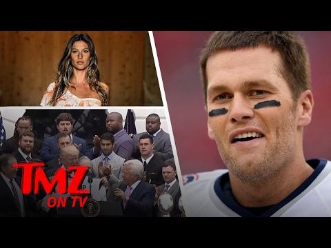 President Trump – Mad at Tom Brady Because of Gisele?!   TMZ TV