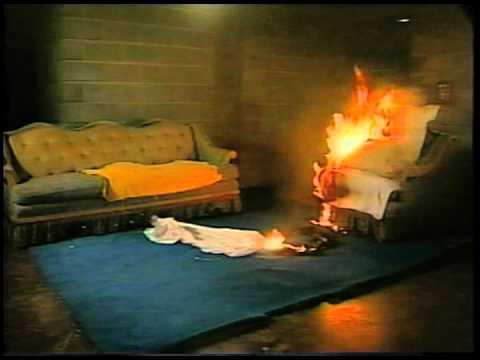 Oxygen Tube Test Burn Video