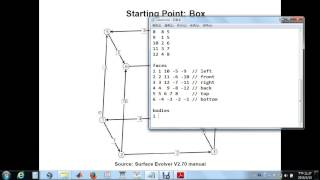 Surface Evolver Tutorial I