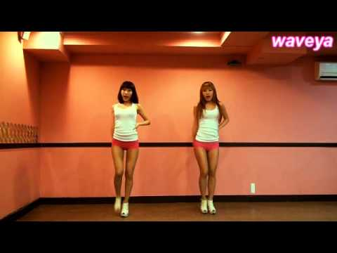 HyunA Bubble pop Dance Tutorial cover # Waveya Ari MiU