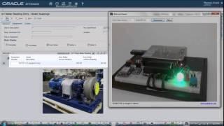 Demonstrating JD Edwards EnterpriseOne Internet of Things Orchestrator
