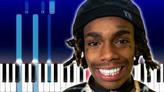 YNW Melly - 223's ft 9lokknine (Piano Tutorial)