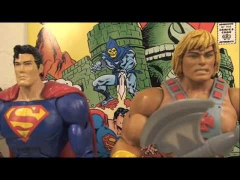 DC Universe Classics Superman VS MOTU Classics He-man Two Pack Toys R Us Exclusive Review