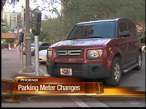 Phoenix to downtown parking meter hours