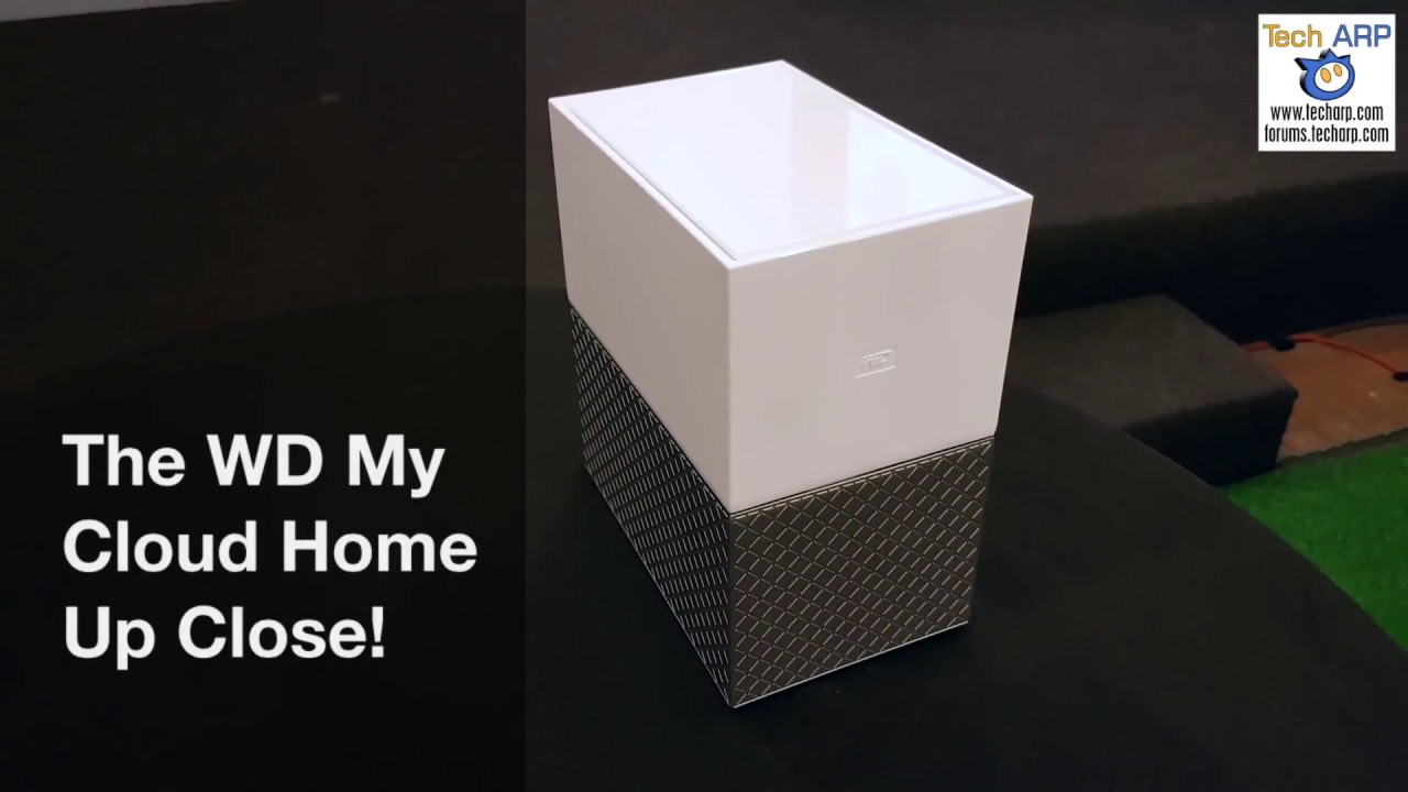 The WD My Cloud Home Up Close!