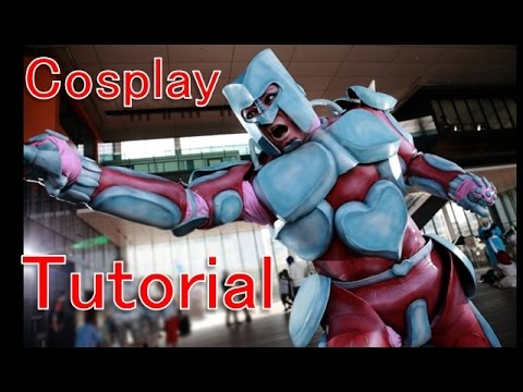 How to make Crazy Diamond - JoJo's Bizarre Adventure [Cosplay prop tutorial] - 동영상