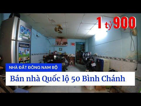 Video nhà bán Quốc lộ 50 Ấp 2 xã Bình Hưng huyện Bình Chánh dưới 2 tỷ mới nhất 2020