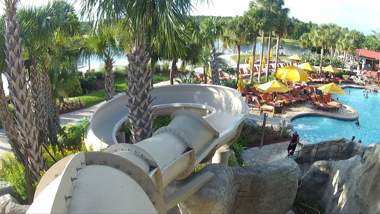 hyatt regency grand cypress orlando beautiful pool detailed pov tour w slide caves waterfalls youtube