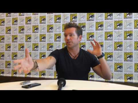 SDCC  with Jonathan Scarfe for Van Helsing