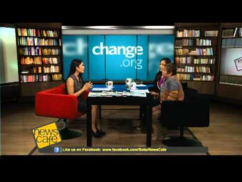 News Cafe Episode 49 - Online Petitioning Through Change.Org