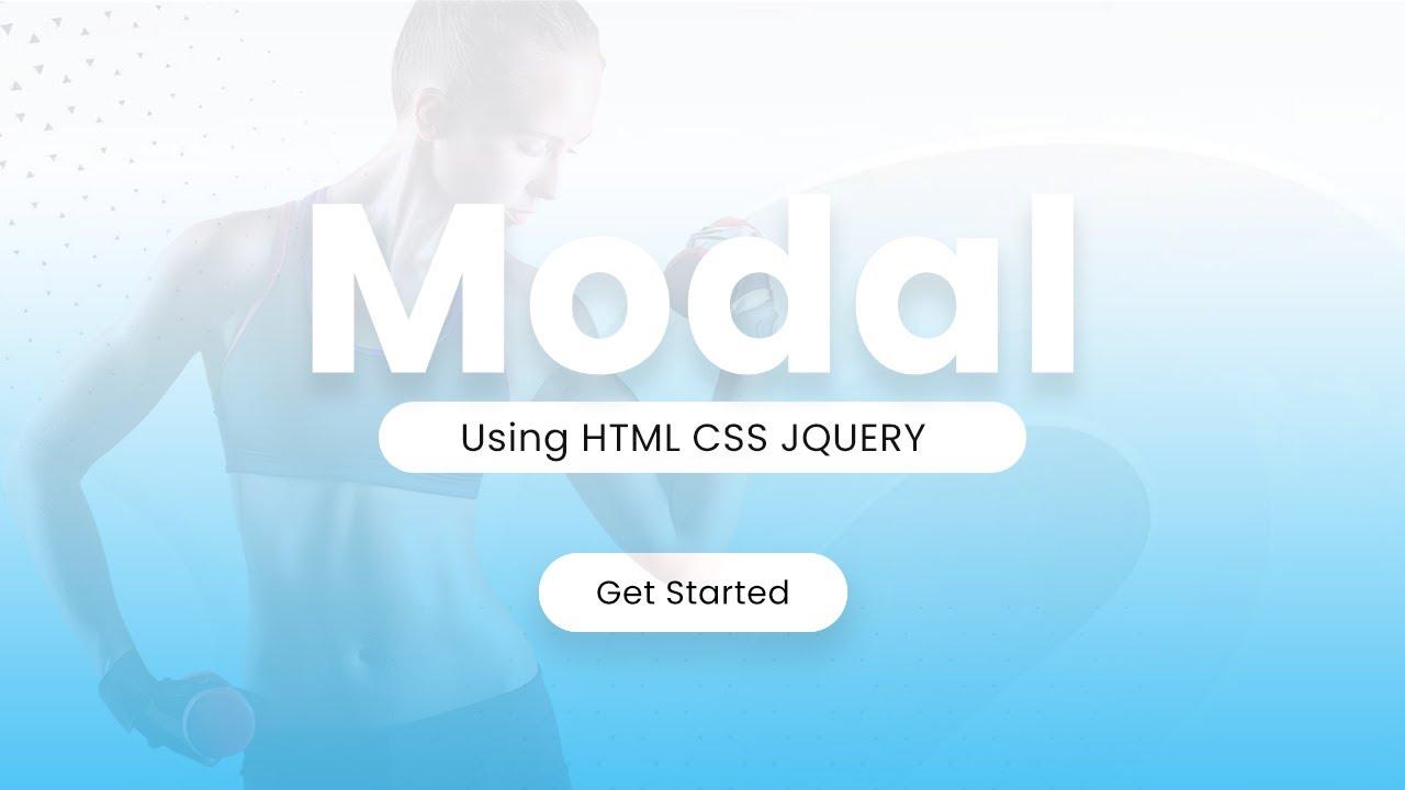 Creative Modal Effect for web design using html css jquery - Latest web design
