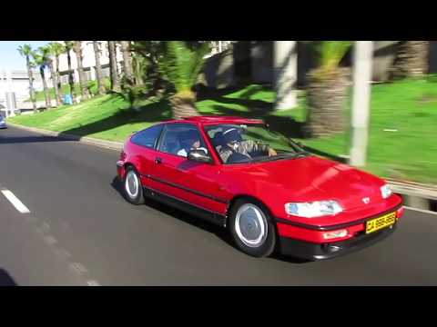 ICONS : The NEATEST Honda CRX in Cape Town!