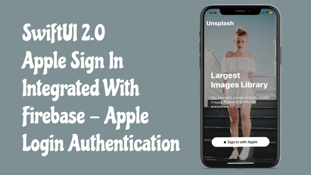 SwiftUI 2.0 Login Page + Apple Sign In Integrated With Firebase - Apple Login