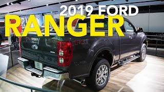 2019 Ford Ranger First Look - 2018 Detroit Auto Show