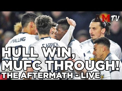 Martial Missing, Hull Win, MUFC Wembley Bound! | The Aftermath: LIVE