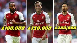 Arsenal Football Players Per Week Salaries 2018