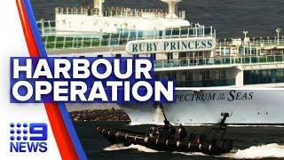 Coronavirus: Major operation to move cruise crew underway | Nine News Australia