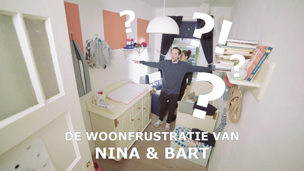 3 Kleine kinderkamer: de woonfrustratie van Nina en Bart - YouTube