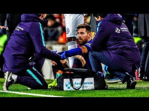 La lesión de Messi