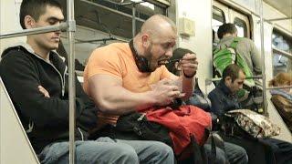 Приспичило пожрать в метро! ПРАНК \ PRANK