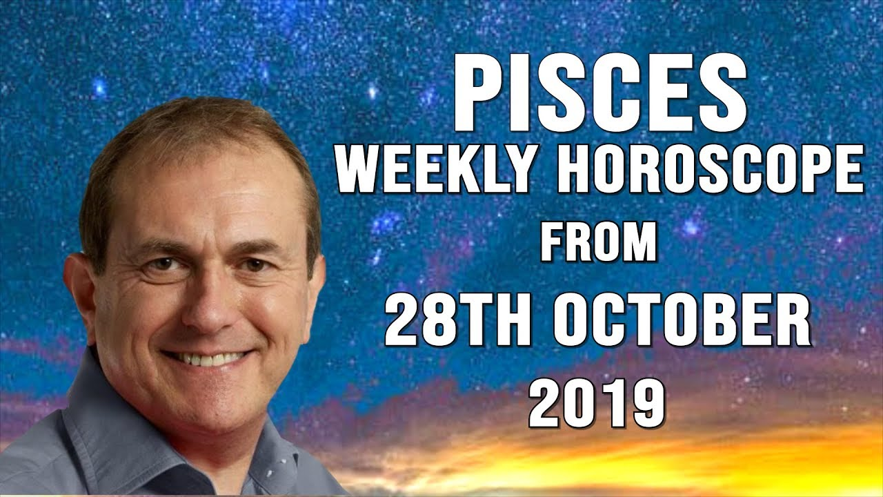 Weekly Horoscopes from 28th October 2019