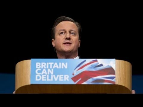 David Cameron's Full Speech To Conservative Party Conference 2012