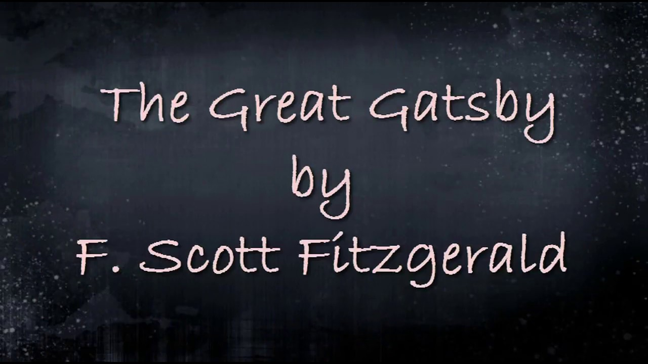 The Great Gatsby F. Scott Fitzgerald Pdf