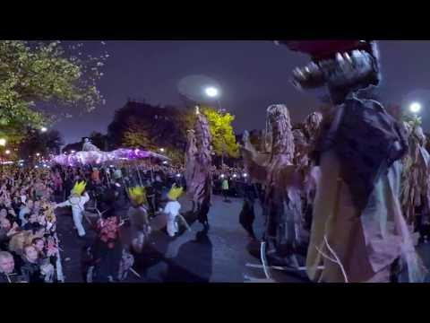 Halloween Parade in Manhattan New York 2019 VR 360