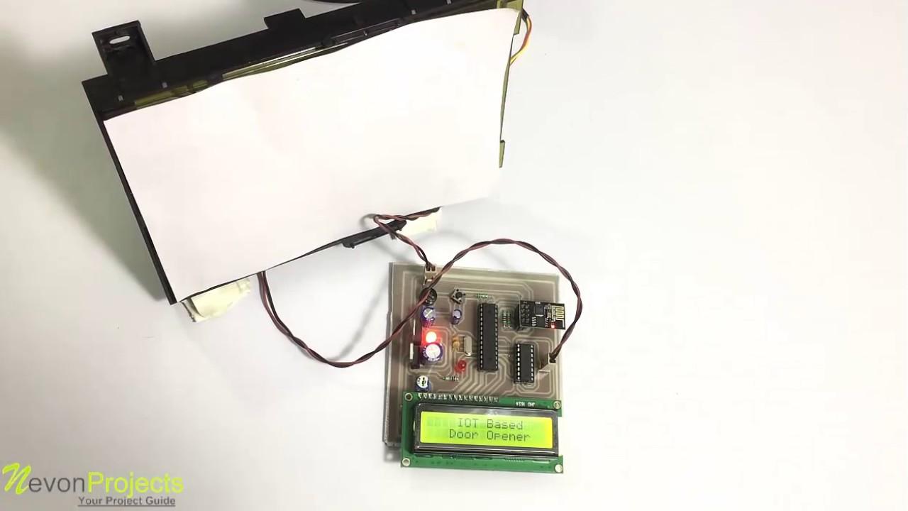IOT Based Electronic Door Opener Project - YouTube