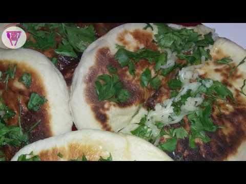 ma-recette-de-naan-au-fromage-(pain-indien)---أسهل-وصغة-خبز-النان-الهندي