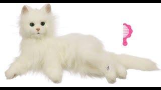 Видео обзоры игрушек - Лежачая кошка Лулу