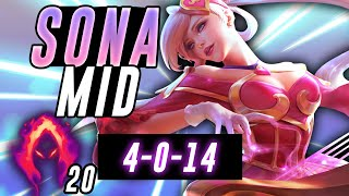 WTF? SONA MID DAMAGE IN UNREAL! - Off Meta Monday - League of Legends