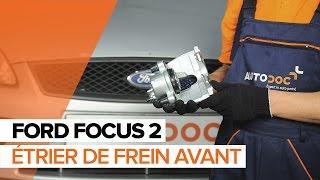 Regardez le vidéo manuel sur la façon de remplacer FORD FIESTA VI Van Étrier De Frein