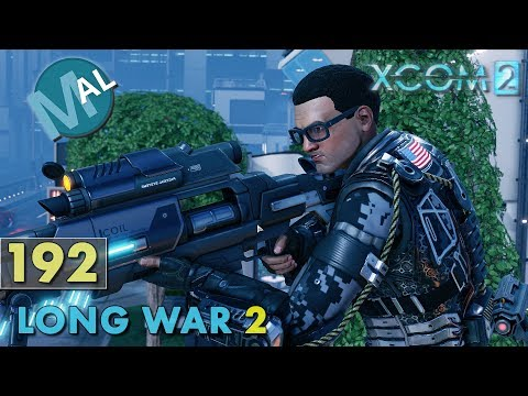LONG WAR 2 1.4 | PART 192 | SQ INFL105 [NEW GUYS IN ACTION!] OPERATION SWAMP GIANT | XCOM 2