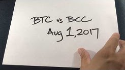 BTC v Bitcoin Cash Are you ready? With Segwit2x