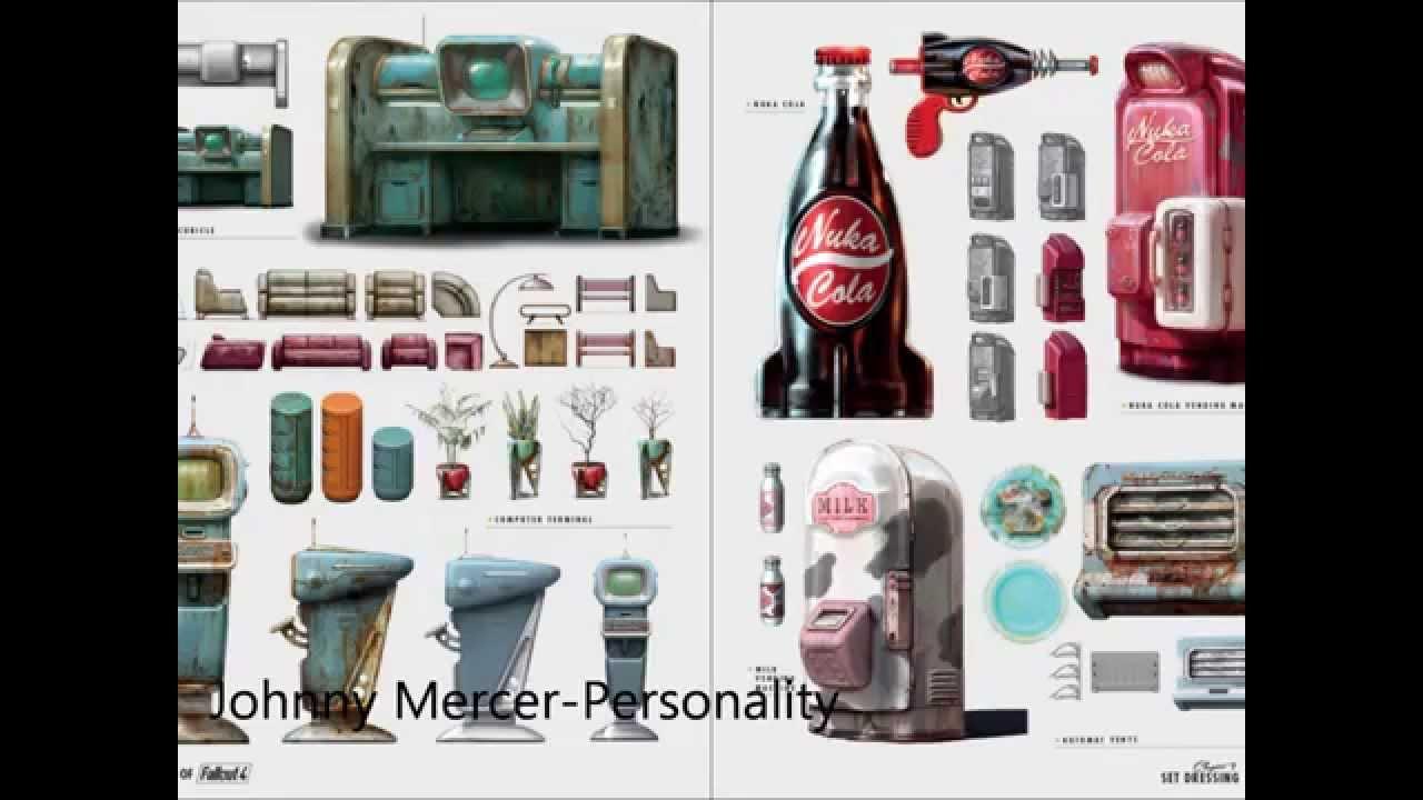 Fallout 4(Diamond city radio)Johnny Mercer-Personality
