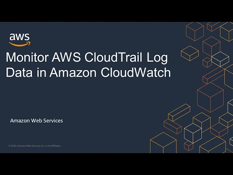 Monitor AWS CloudTrail Log Data in Amazon CloudWatch