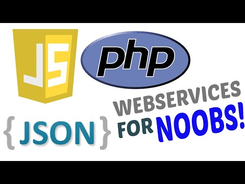 Insert or Update data securely using JSON web services PHP example